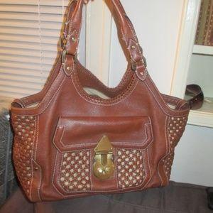 Cole Hann Weaved bag large